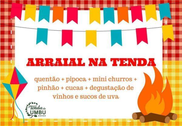ARRAIAL TENDA DO UMBU